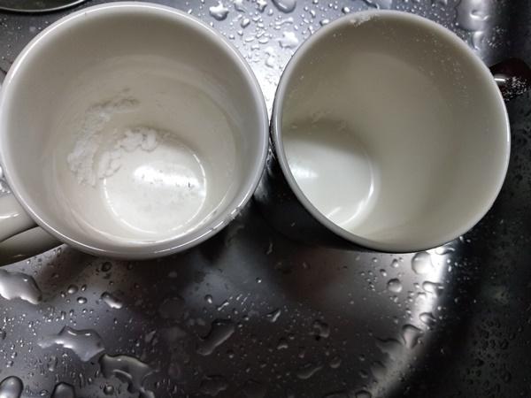 重曹 マグカップ 真っ白 合成の漂白剤 要らない